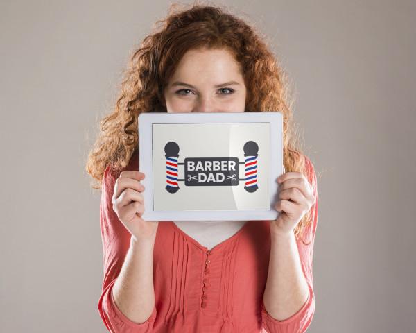 Sample branding #1 for Barberdad