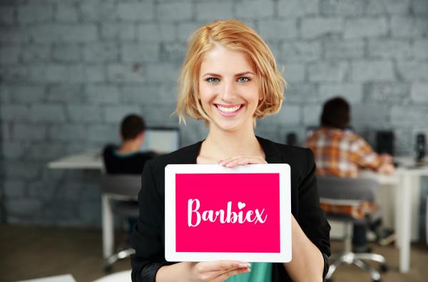 Sample branding #2 for Barbiex