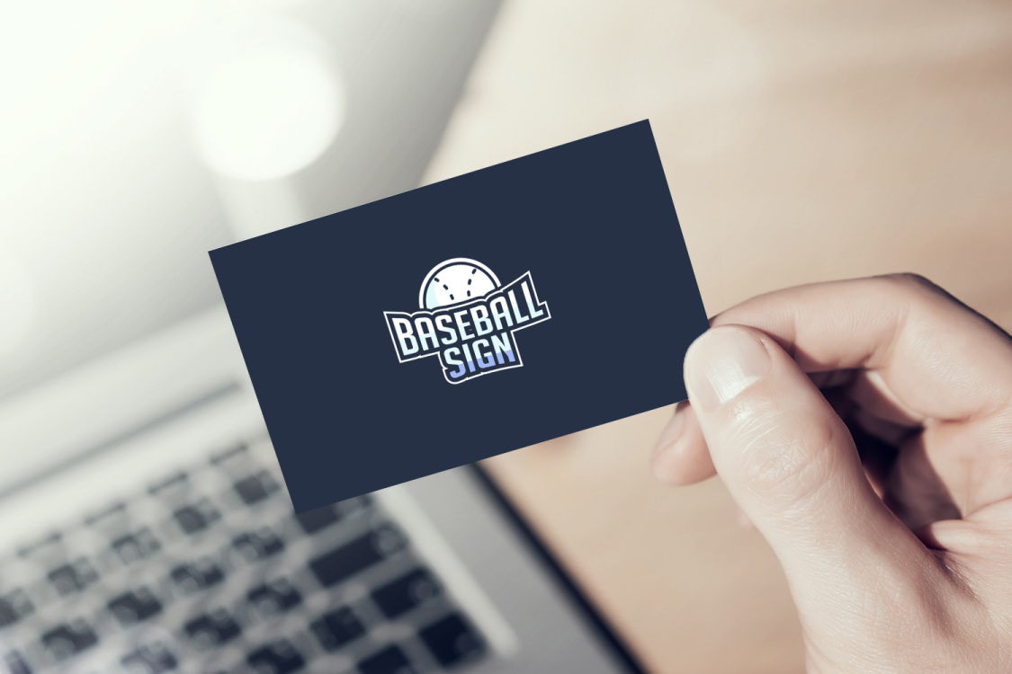 Sample branding #3 for Baseballsign