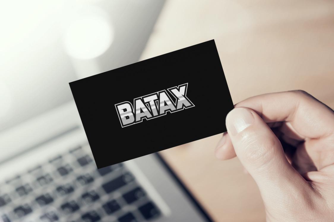Sample branding #3 for Batax