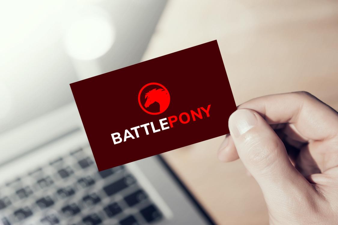Sample branding #3 for Battlepony
