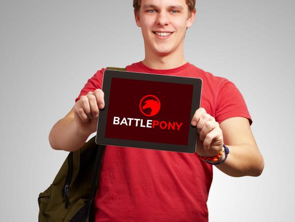 Sample branding #2 for Battlepony