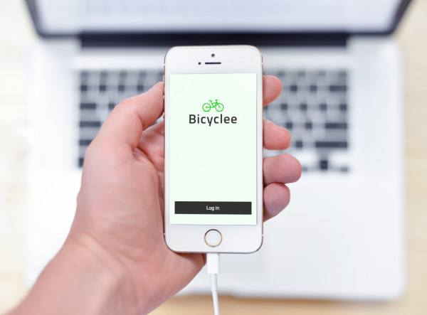 Sample branding #2 for Bicyclee