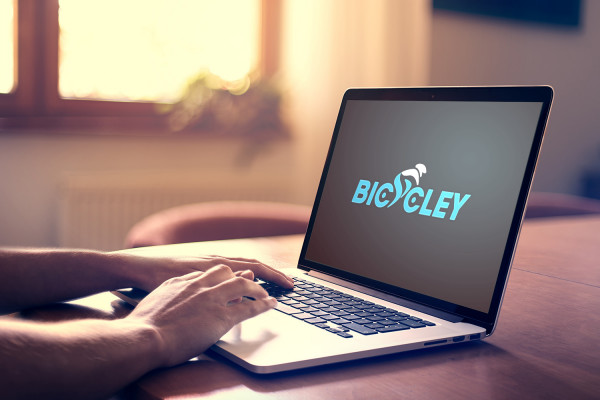 Sample branding #1 for Bicycley