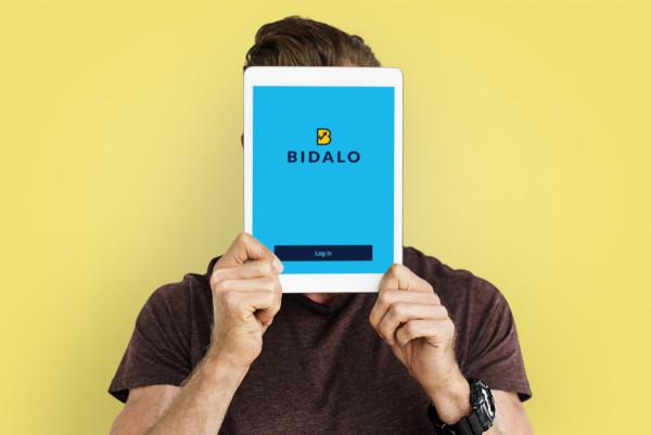 Sample branding #3 for Bidalo