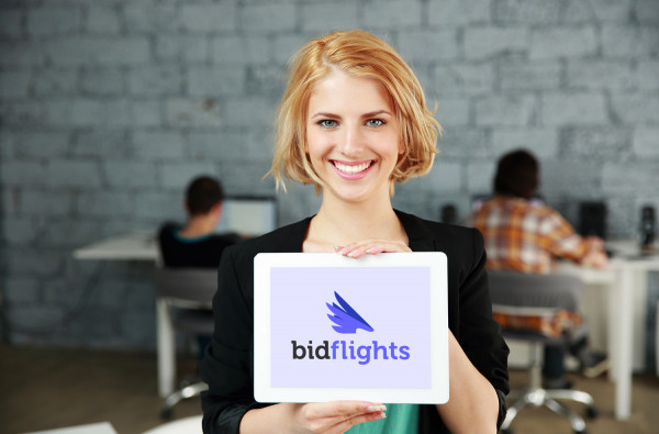 Sample branding #3 for Bidflights