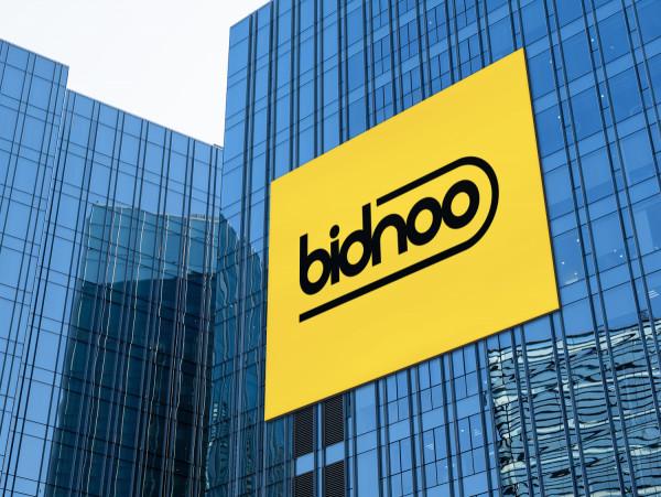 Sample branding #2 for Bidnoo