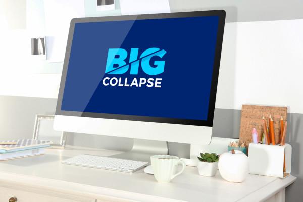 Sample branding #2 for Bigcollapse