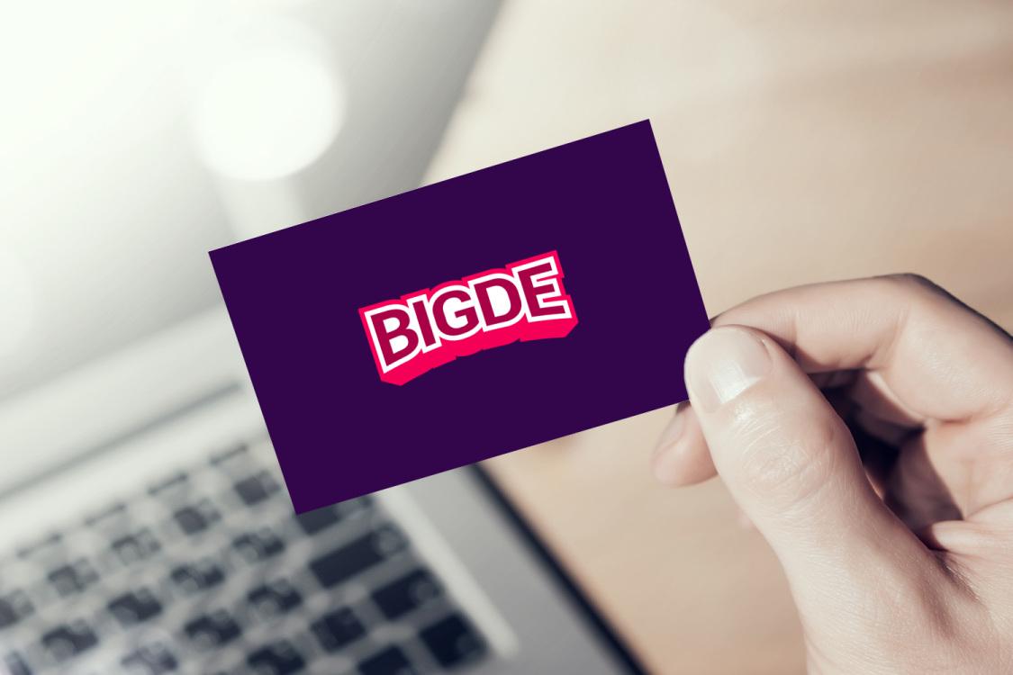 Sample branding #3 for Bigde