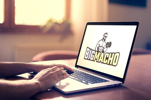 Sample branding #1 for Bigmacho