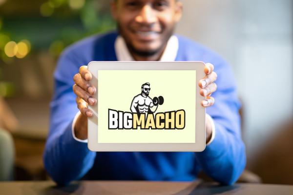 Sample branding #2 for Bigmacho