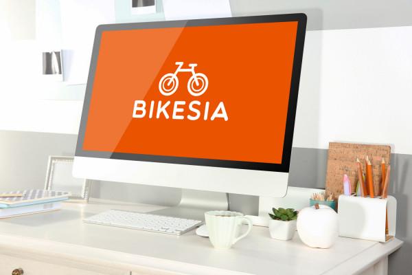 Sample branding #1 for Bikesia