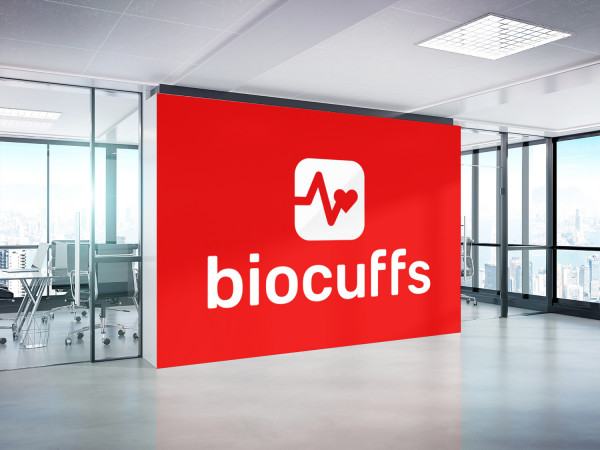 Sample branding #1 for Biocuffs