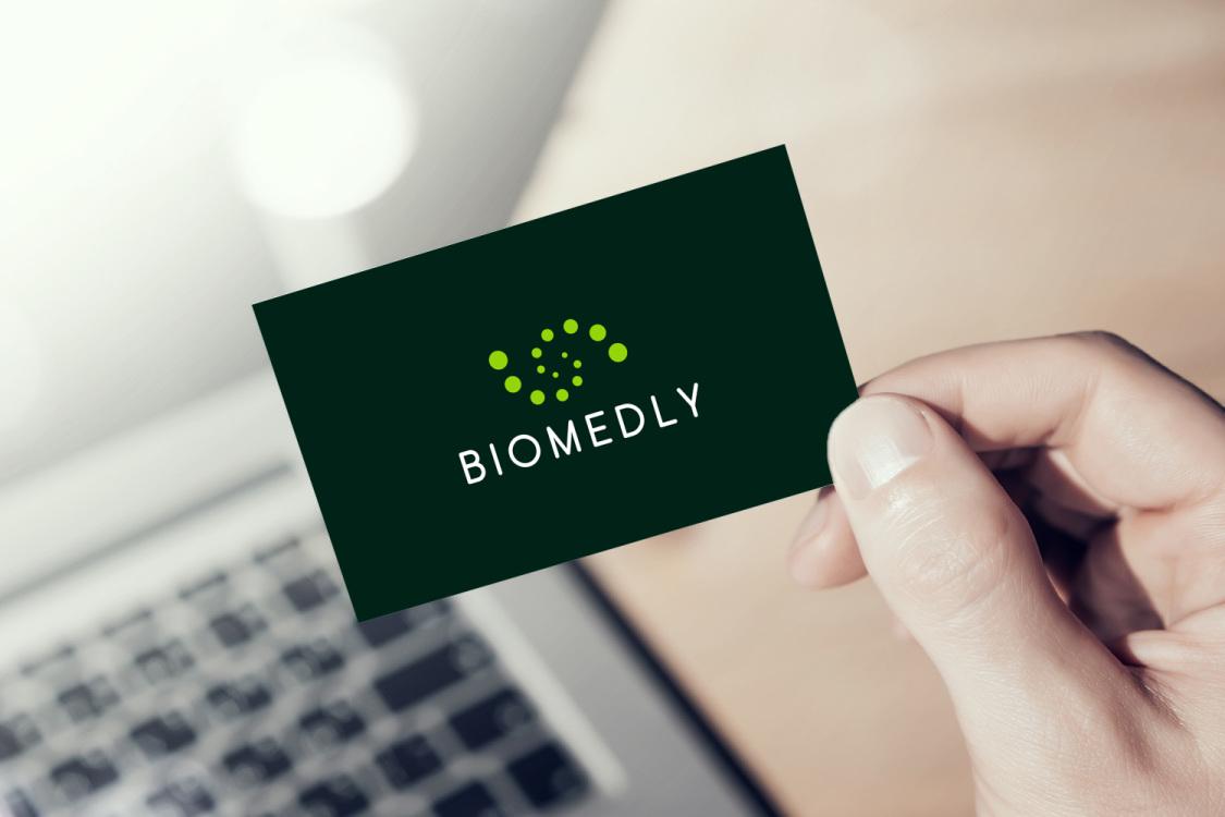 Sample branding #1 for Biomedly