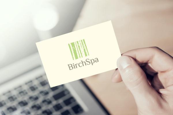 Sample branding #2 for Birchspa