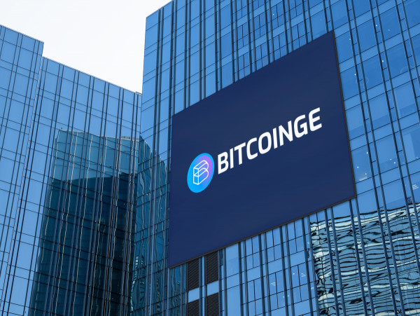 Sample branding #1 for Bitcoinge