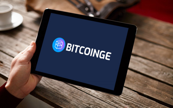 Sample branding #3 for Bitcoinge