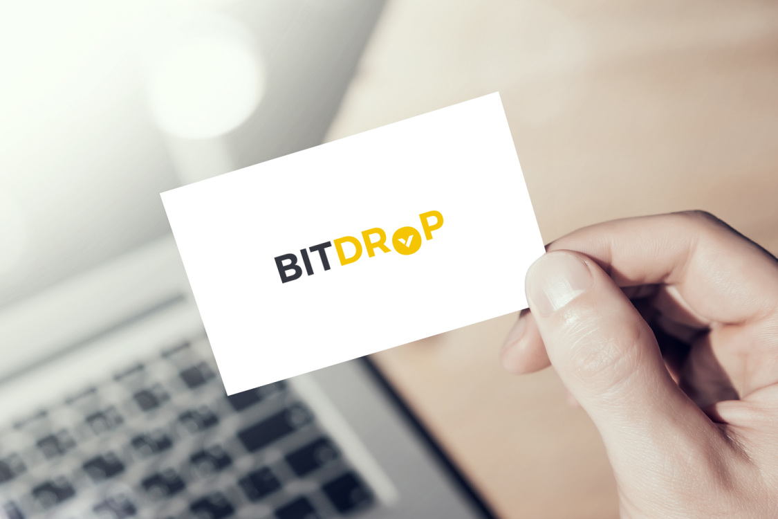 Sample branding #3 for Bitdrop
