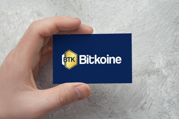 Sample branding #1 for Bitkoine