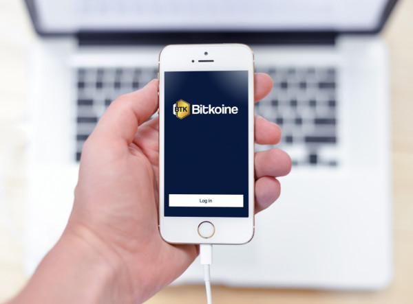 Sample branding #3 for Bitkoine