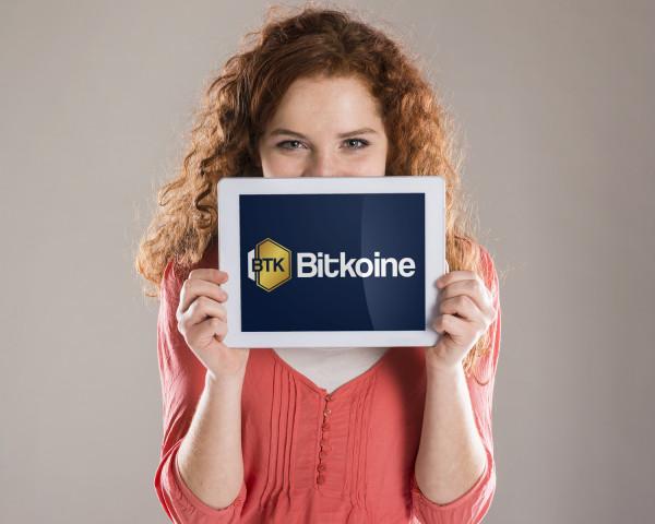 Sample branding #2 for Bitkoine