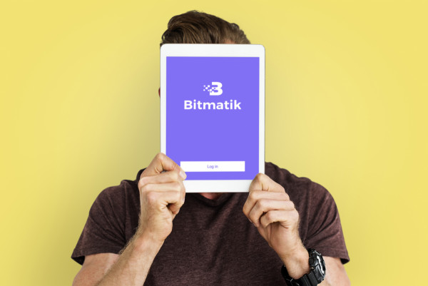 Sample branding #2 for Bitmatik