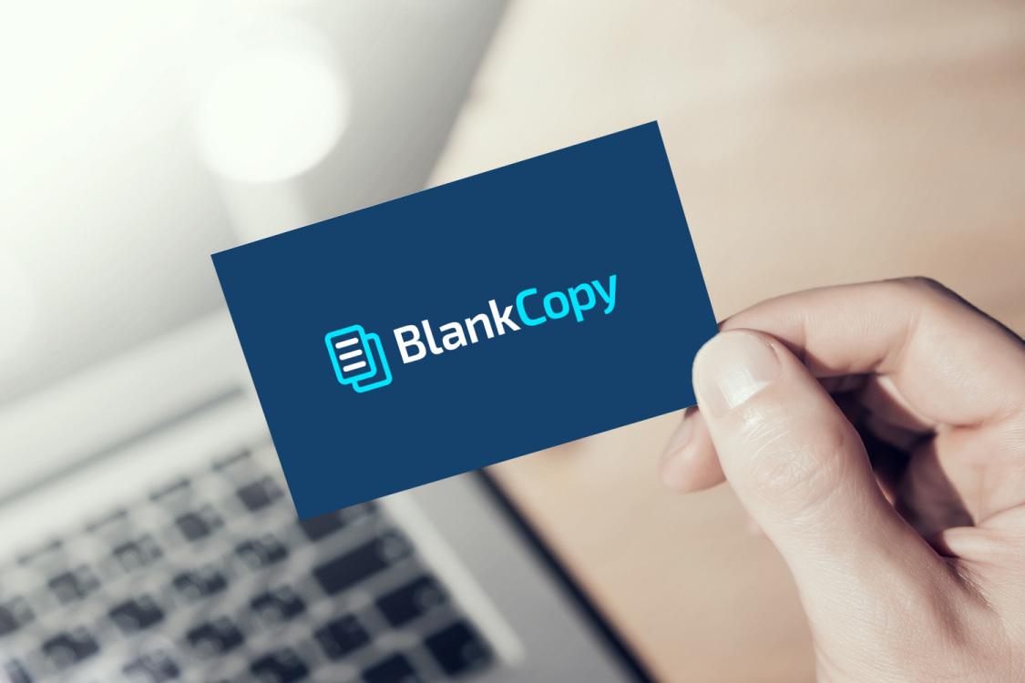 Sample branding #1 for Blankcopy