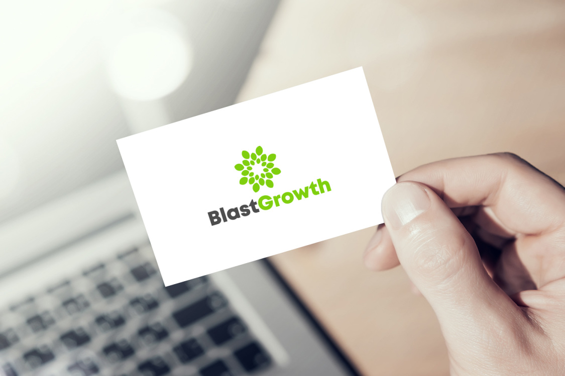 Sample branding #3 for Blastgrowth