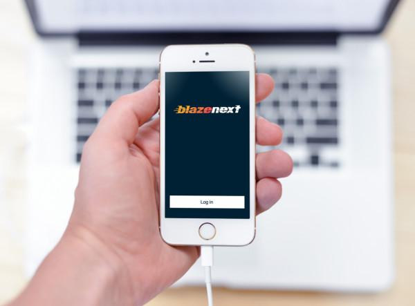 Sample branding #1 for Blazenext