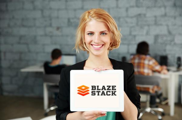 Sample branding #1 for Blazestack