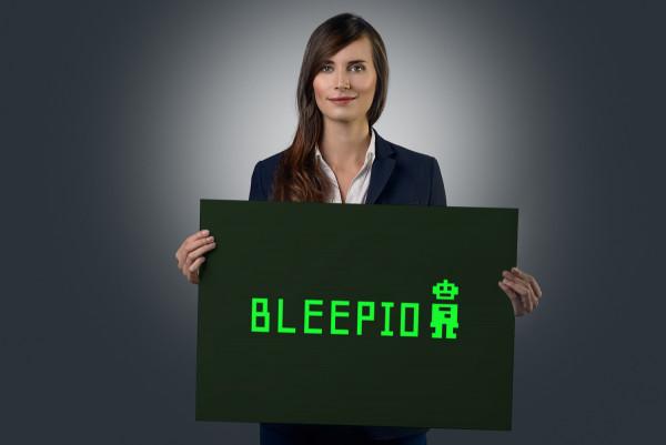 Sample branding #1 for Bleepio