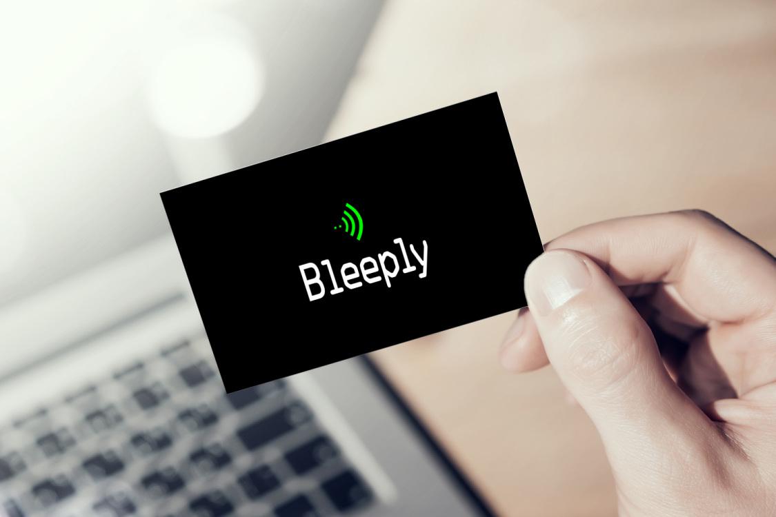 Sample branding #2 for Bleeply