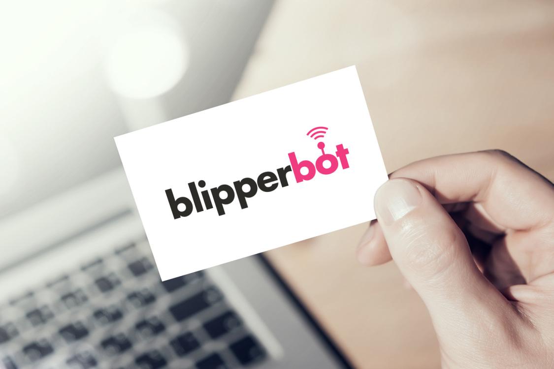 Sample branding #3 for Blipperbot