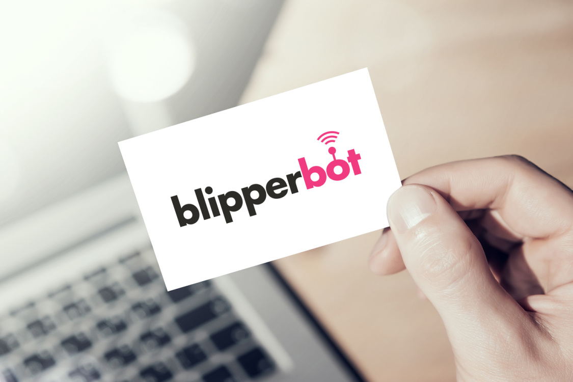 Sample branding #1 for Blipperbot