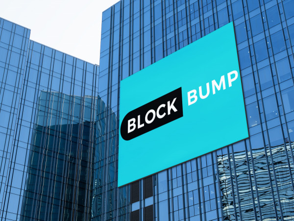 Sample branding #2 for Blockbump