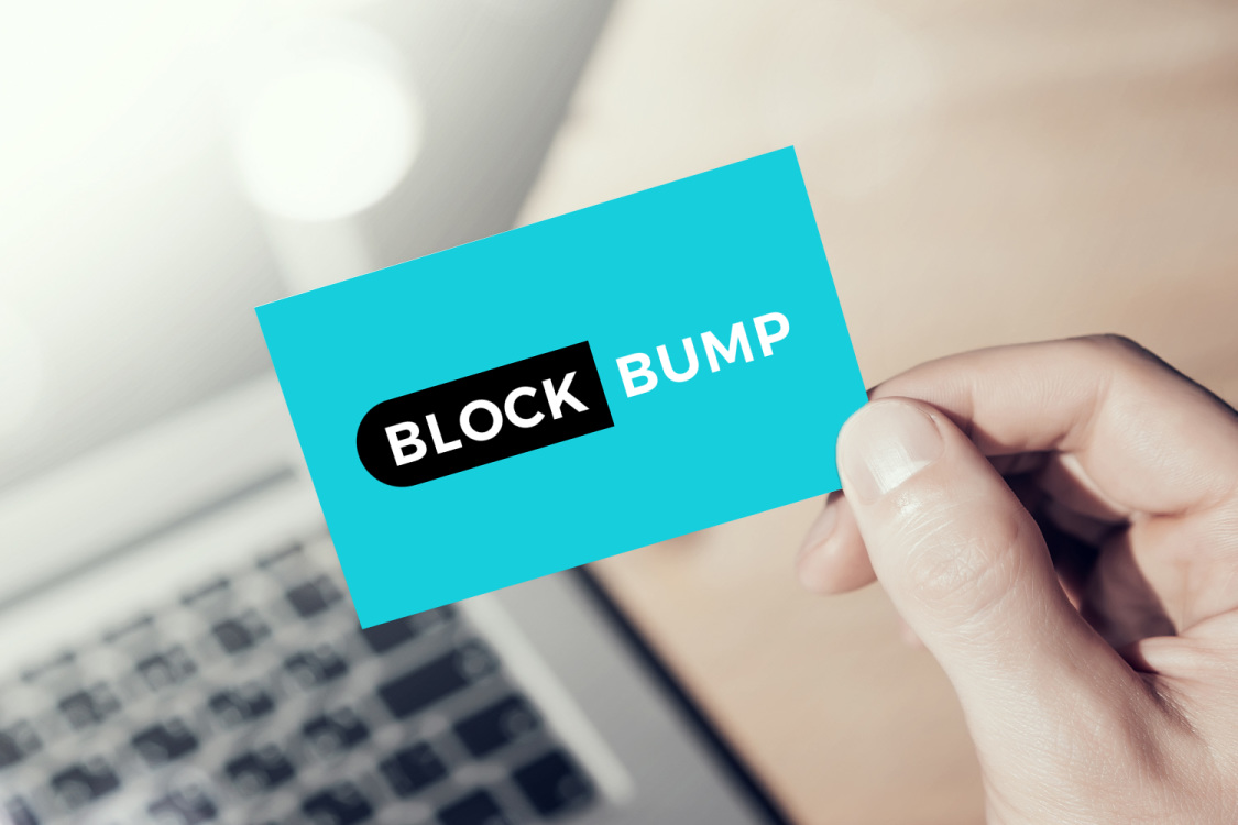 Sample branding #2 for Blockbump