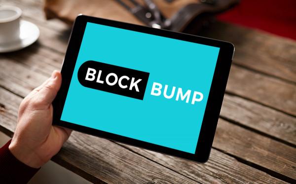 Sample branding #1 for Blockbump