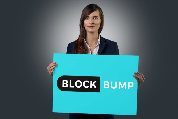 Sample branding #3 for Blockbump