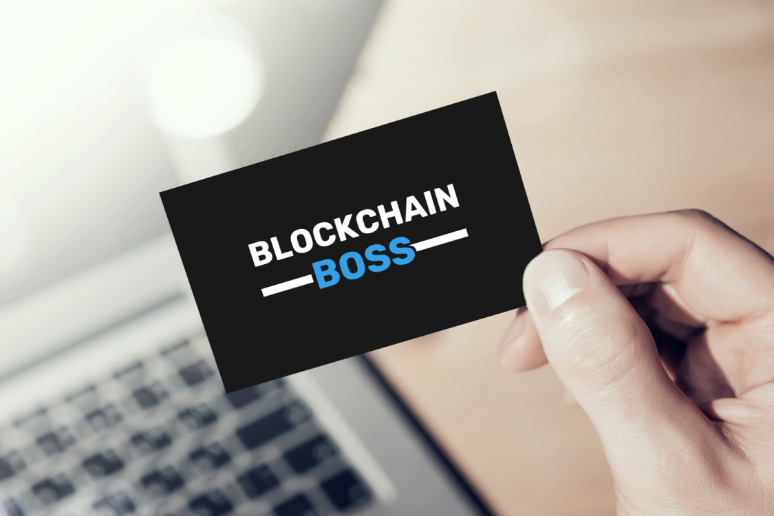 Sample branding #2 for Blockchainboss
