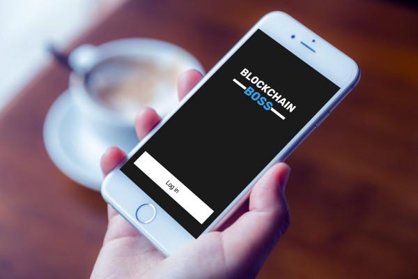 Sample branding #1 for Blockchainboss