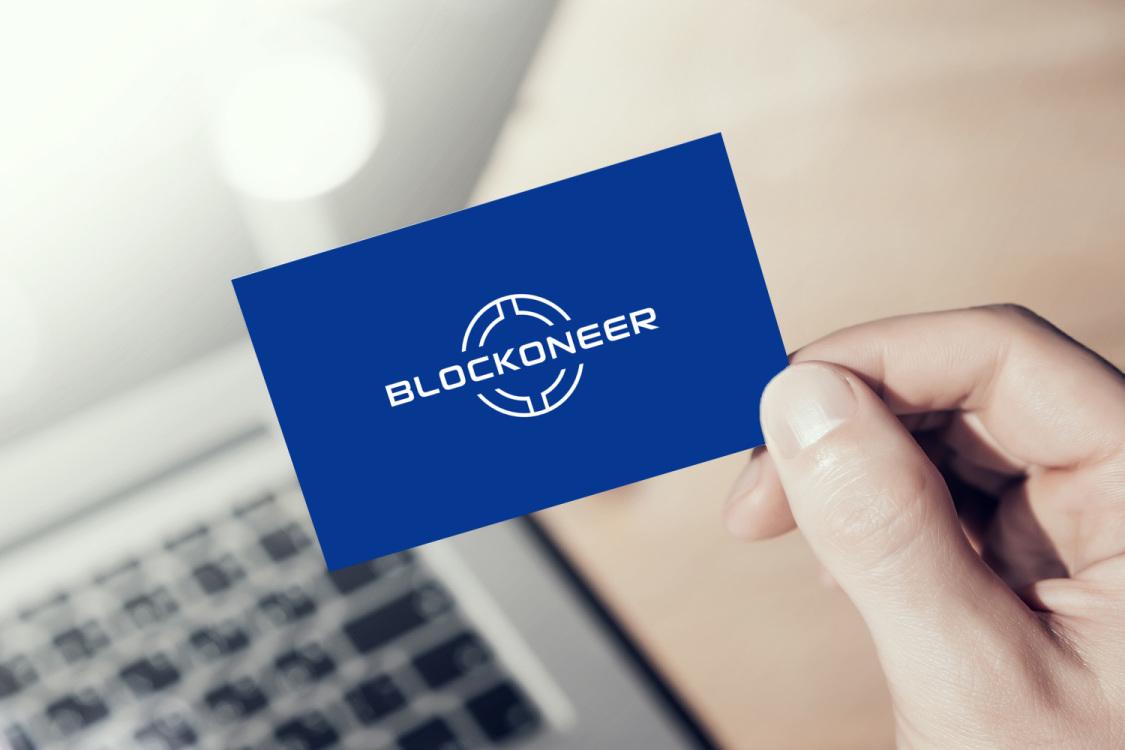 Sample branding #1 for Blockoneer