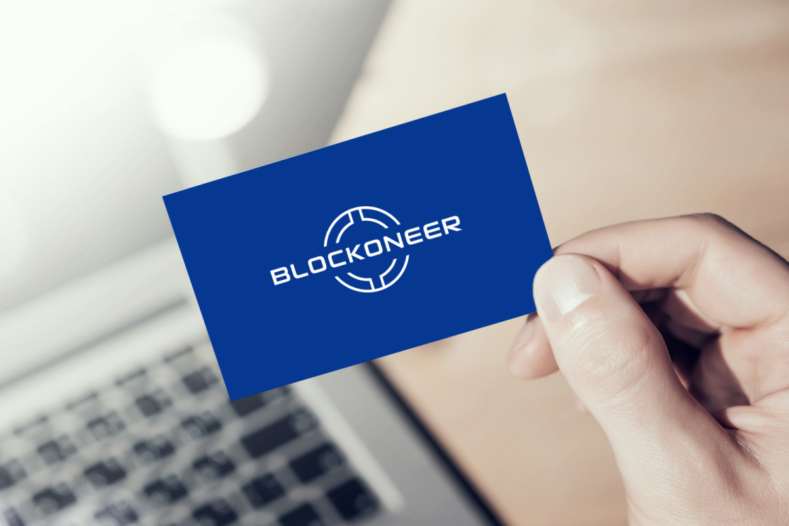 Sample branding #3 for Blockoneer