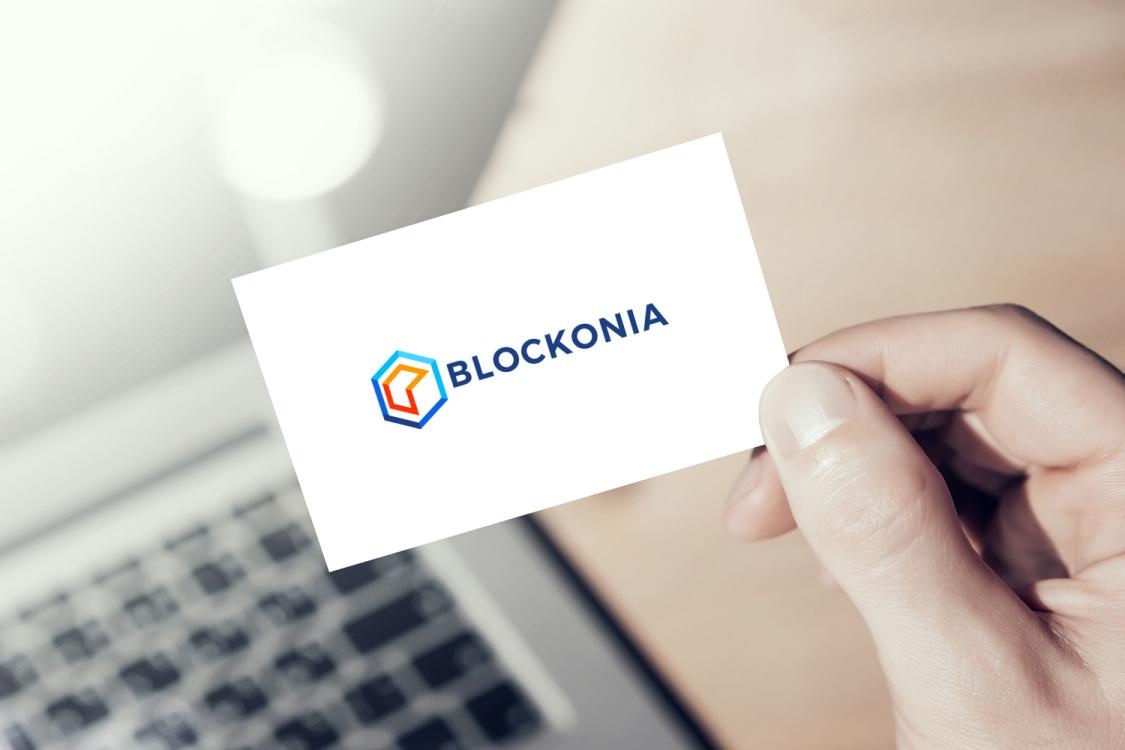 Sample branding #1 for Blockonia