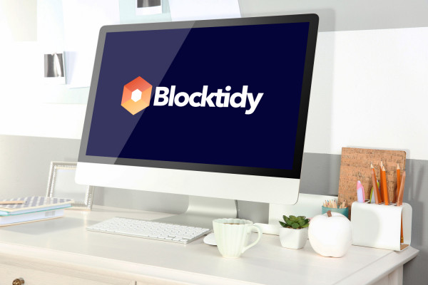 Sample branding #2 for Blocktidy