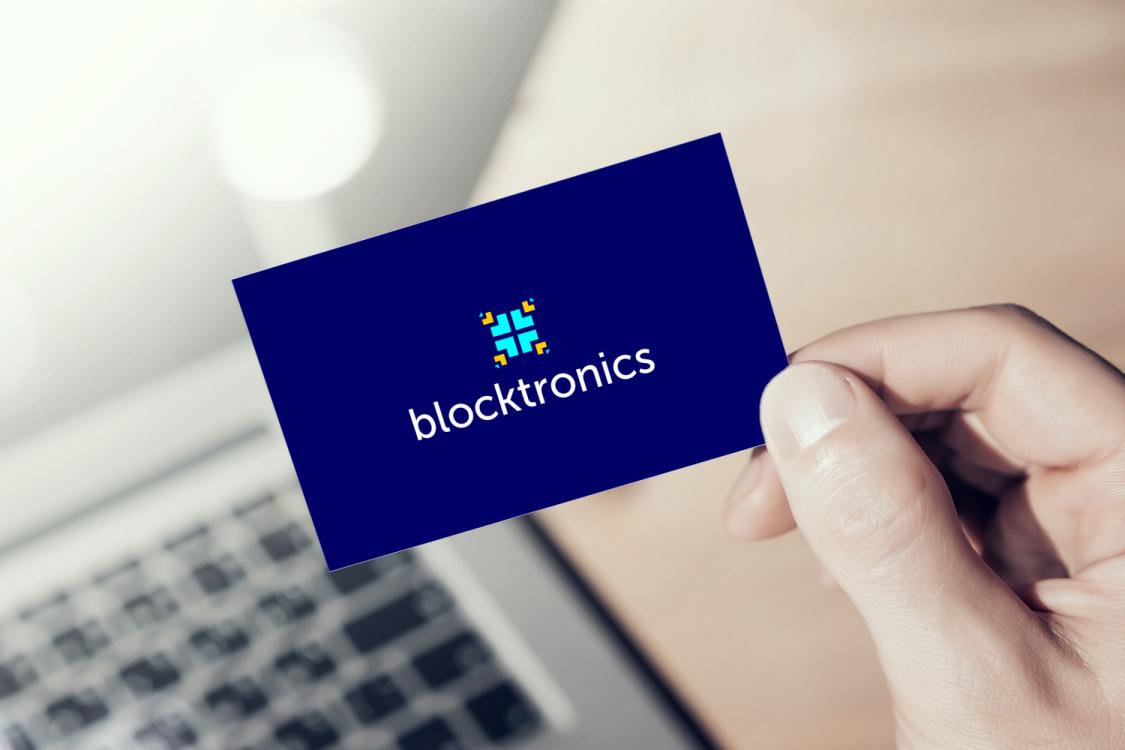 Sample branding #1 for Blocktronics