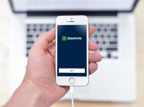 Sample branding #2 for Blockvio