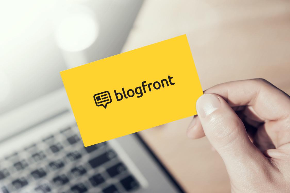 Sample branding #2 for Blogfront