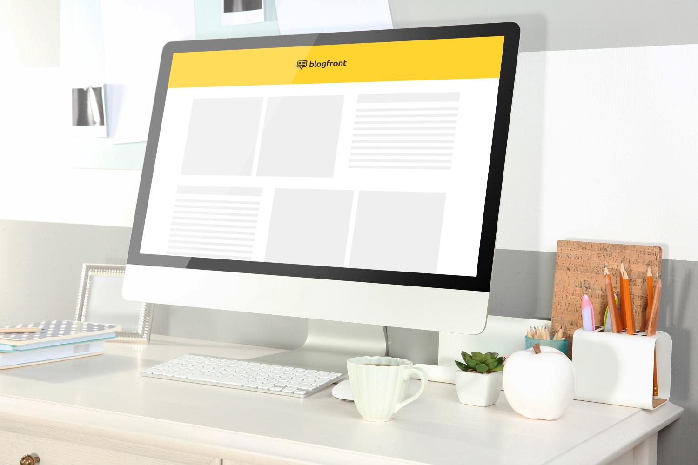 Sample branding #3 for Blogfront