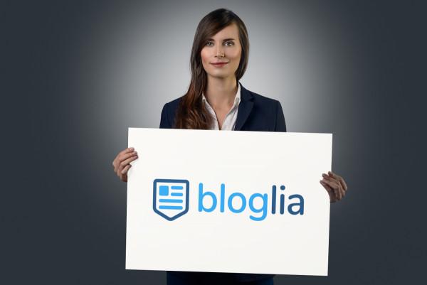 Sample branding #2 for Bloglia