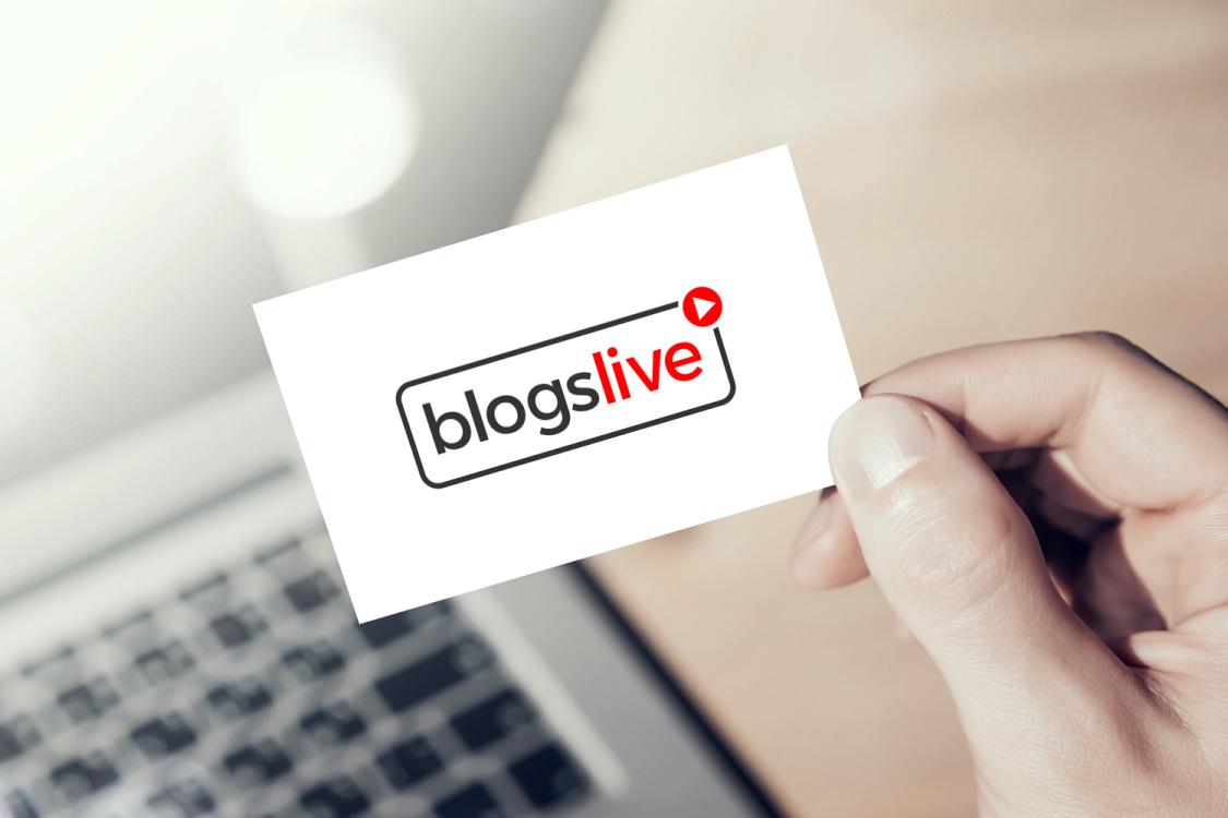 Sample branding #3 for Blogslive